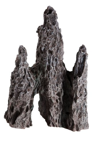 Rock Polyresin (Fluval Polyresin Aquarium Ornament - Rock Outcrop)