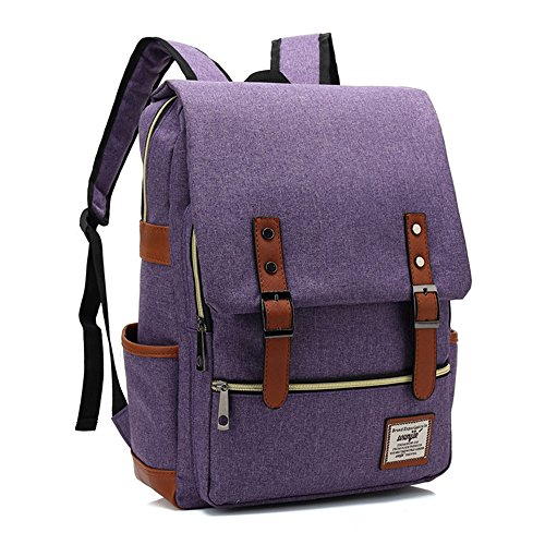 vintage canvas backpack lightweight canvas laptop. Black Bedroom Furniture Sets. Home Design Ideas