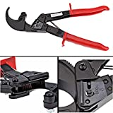 Heavy Duty Ratchet Cable Cutter Wire Cut up to 240mm Square Aluminium and Copper Cable