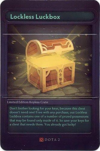 Dota 2 Promo Code Card Lockless Luckbox