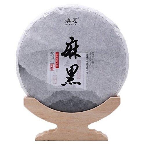 Yi Wu Ma Hei Puer raw tea Pu-erh Tea Cake 357g 滇迈 2017易武麻黑百年古树云南普洱茶生茶七子饼茶头春古树茶357g/饼
