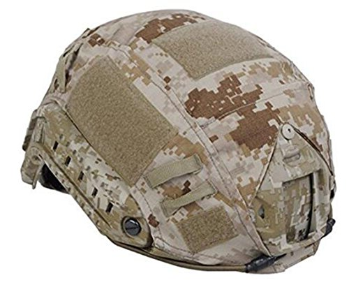 Military Army Tactical Equipment Helmet Accessory Combat Fast Helmet Cover (AOR1)