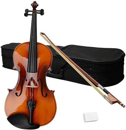 YuJiZ - Estuche para viola, 40,6 cm, color marrón: Amazon.es: Instrumentos musicales