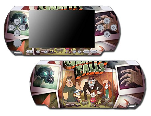 Amazon.com: Gravity Falls Mabel Pines Mystery Shack Video Game Vinyl Decal Skin Sticker Cover for Sony PSP Playstation Portable Slim 3000 Series System: ...