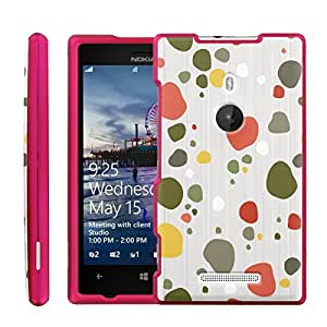 [ManiaGear] Design Graphic Image Shell Cover Hard Case (Abstract Pebble) for Nokia Lumia 925