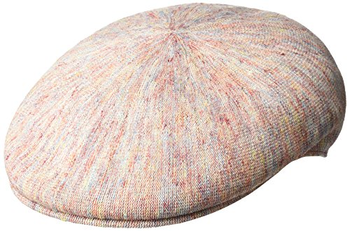 (Kangol Men's Linen 504 Ivy Cap, Clay Mix, S)