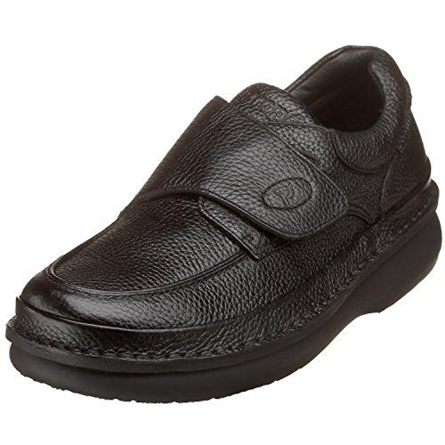 Propet Mens Scandia Strap Shoe Black 14 X (3E) & Oxy Cleaner Bundle Jj4ekBU