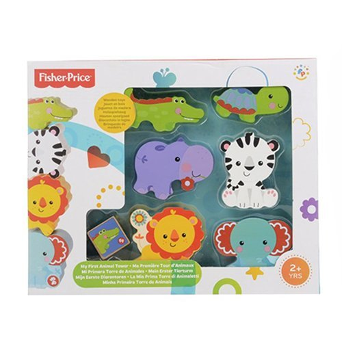 Fisher-Price My First Animal Tower Pretend Play -