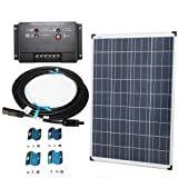 Plug-n-Power 100w Solar Panel Charging Kit for 12v Off Grid Battery – next day free shipping from U.S. Review