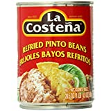 La Costena Refried Pinto Beans, 20.5 Ounce (Pack of 12) by La Costena