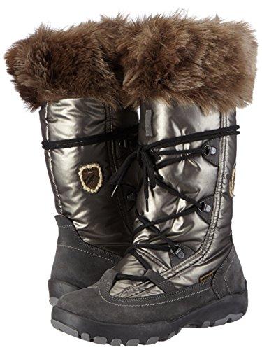 Sintético 1 Material Mujer Senderismo Grau dark Northland Gris Faye Botas Boots grey Ls Hc Grey Professional De wzw80a
