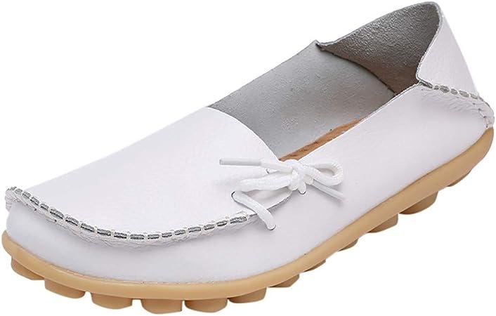 Aritone Women Shoes Mocassins en Cuir pour Femme