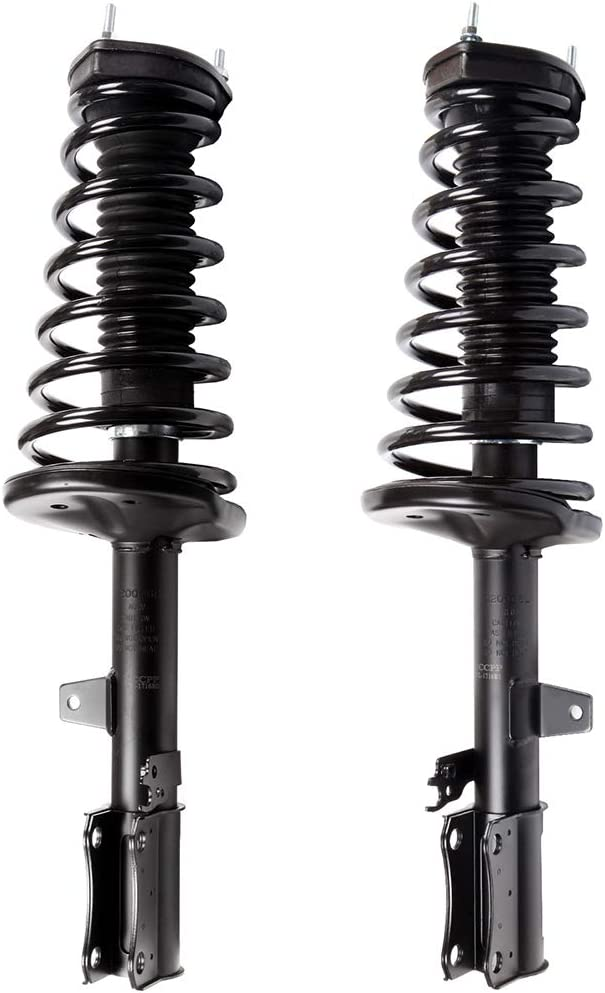 New Rear Driver /& Passenger Complete Strut /& Spring Assembly for 2002-2003 Toyota Camry /& Lexus ES300 Rear 2 Both Rear