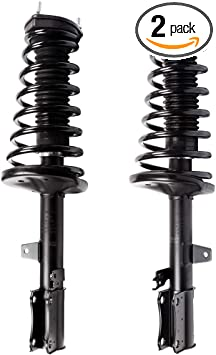 1997-2003 Toyota Avalon MOCA Rear Complete Strut Assembly Driver and Passenger Side Shock Coil Spring for 1992-2001 Lexus ES300 1992-2001 Toyota Camry 3.0L