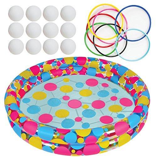 Juego de lanzamiento de anillos de agua por gamie–Super Fun juegos al aire última intervensión para...