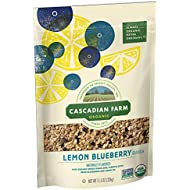 Cascadian Farm Organic Lemon Blueberry Granola, 11.5 oz(Packaging may vary)