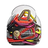 ASP Mini Carabiner Bin (Assortment of 50) 81297, Assorted Color