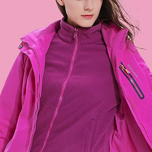 Al Chaqueta Púrpura Windbreaker En Hombre Con 1 Capucha Aire F Ligera Montaña Abrigos Qitunc Impermeable Mujer 3 Libre tC6gwyZFq