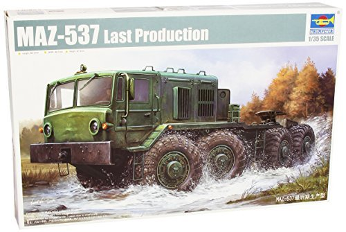 Trumpeter 1:35 - MAZ-537 Late Production by Trumpeter