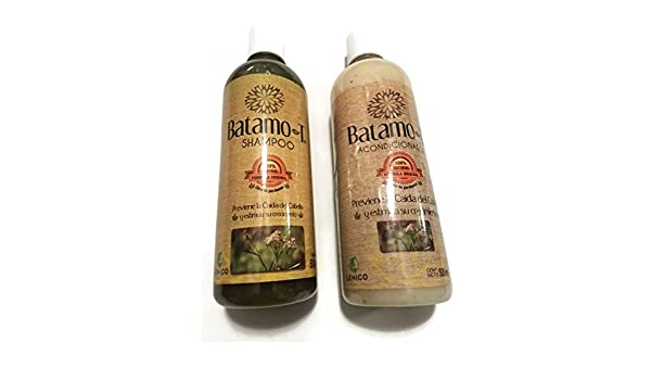 Amazon.com : Prevent and Control Hair Loss Set of Batamo-T Shampoo and Conditioner 500ml each. : Beauty