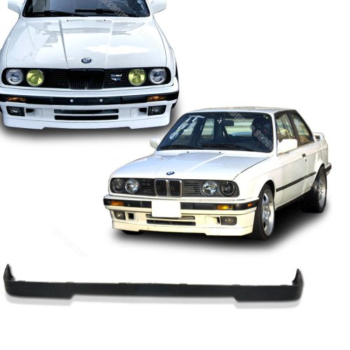 NEW - 1984-1992 BMW E30 3-Series M-TECH Type Front PU Bumper Lip (Bmw E30 325 Coupe)