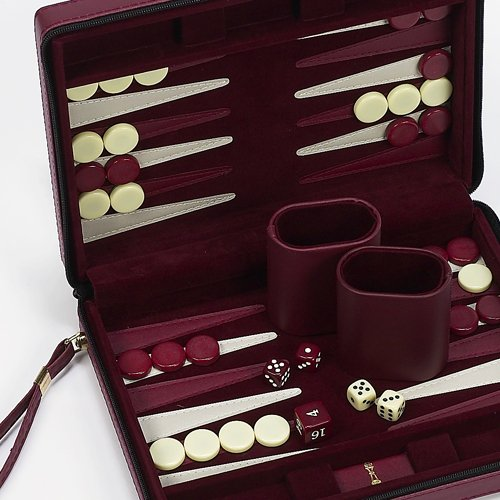 - Chelsea Luxury Designer Travel Magnetic Backgammon Set