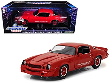 Maisto 1981 Chevrolet Camaro Z/28 Yenko Turbo Z Red 1/18 Model Car
