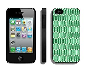 Slim Case For HTC One M7 Cover Durable Soft Silicone PC Green Honeycomb Diy Black Phone Cover Mobile Accessories for HTC One M7
