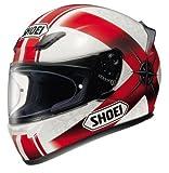 Shoei, XR1000 - Casco integrale J&S con logo, colore: Blu o Rosso