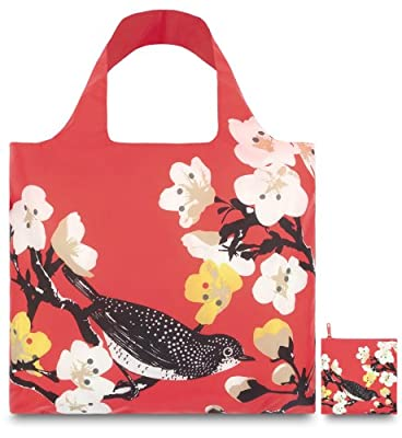 LOQI Prima Cherry Reusable Shopping Bag, Multicolor