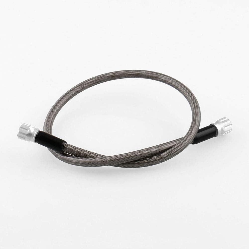 Color : Black COOLLIU Kupplung Bremshebel Motorrad Modified Zubeh/ör Universal-Stahldraht Geflochtene Hohe Temperaturbest/ändigkeit Bremsschlauch L/änge 945mm
