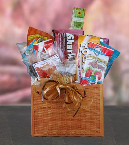 College Athlete Healthy Gift Box by Well Baskets