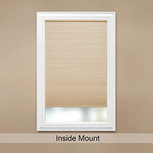 Cut-to-Width Sahara 9/16 in. Cordless Cellular Shade - 35 in. W x 48 in. ()
