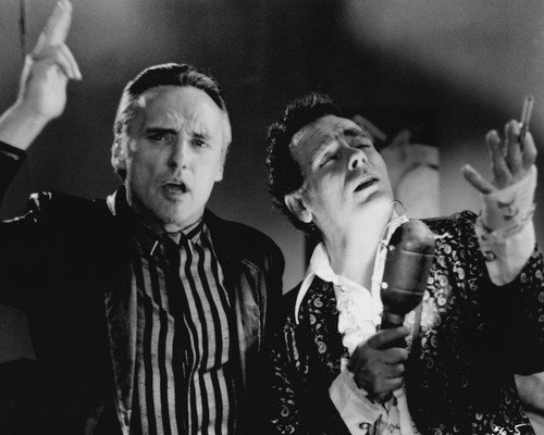 Dennis Hopper and Dean Stockwell in Blue Velvet croon song together 16x20 Poster