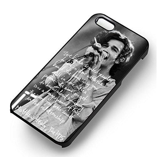 Unique Healy Quotes pour Coque Iphone 5 or Coque Iphone 5S or Coque Iphone 5SE Case (Noir Boîtier en plastique dur) Q2R0MP