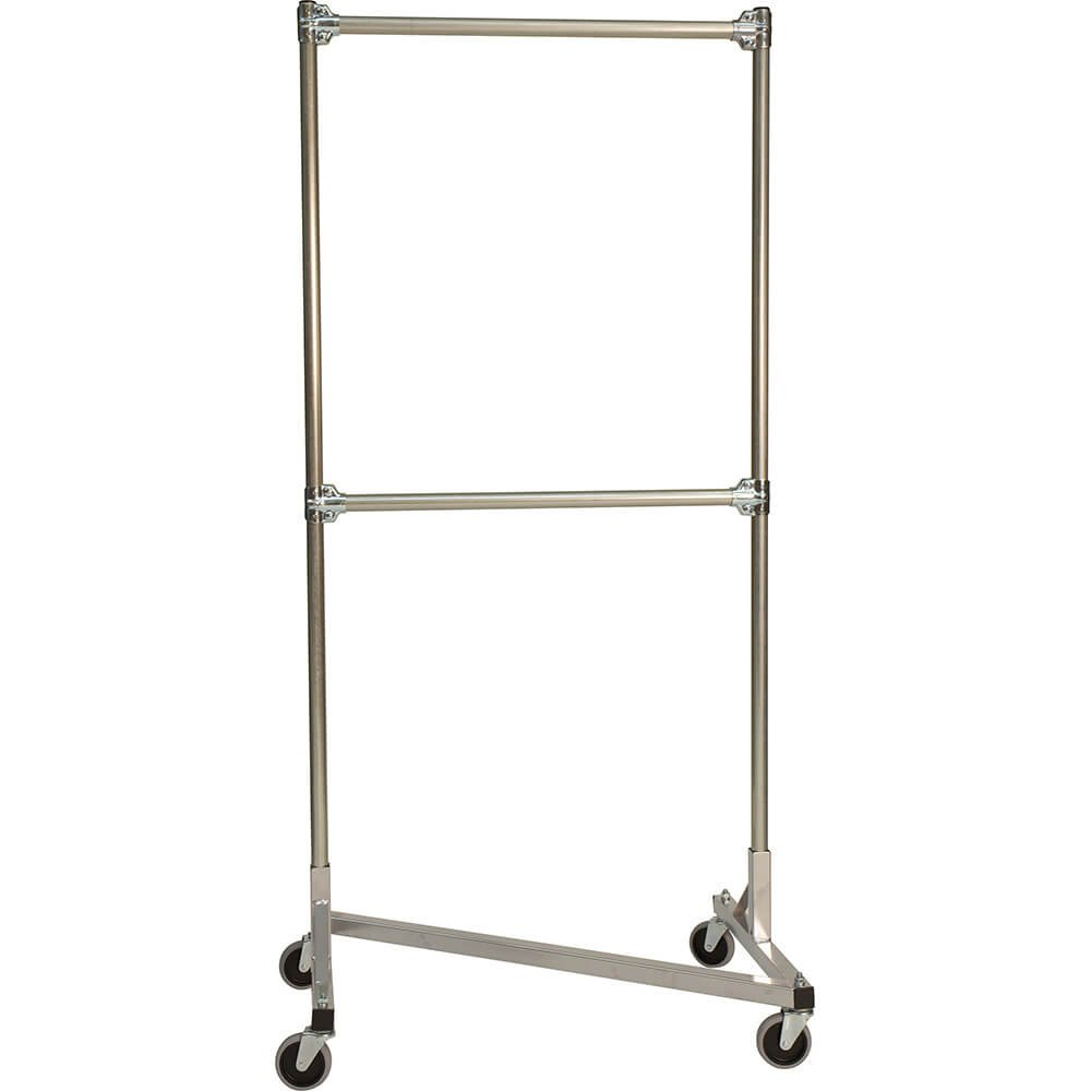 Amazon.com: Calidad fabricators z-rack, Heavy Duty ropa rack ...