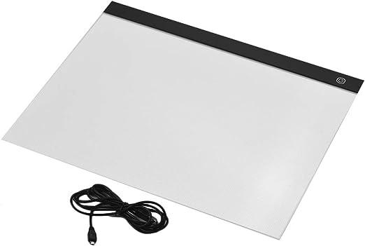 Caja De Luz A3 Caja De Luz Led Rastreo Ligero Almohadilla Stepless Oscurecimiento Dibujo Tableta Almohadilla Protectora Para Pintar Bocetos: Amazon.es: Hogar