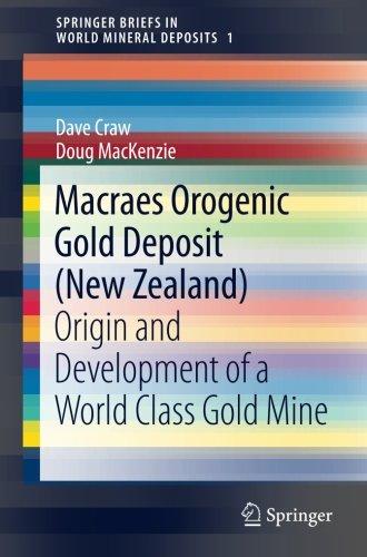 Macraes Orogenic Gold Deposit (New Zealand): Origin and Development of a World Class Gold Mine (SpringerBriefs in World Mineral Deposits)