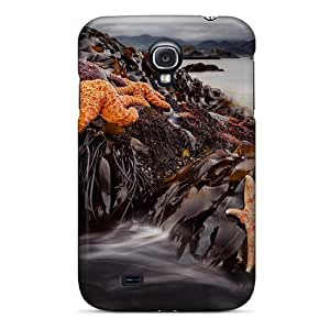 Quality Saraumes Case Cover With Beach Of Sealife Starfish Nice Appearance Compatible With Galaxy S4