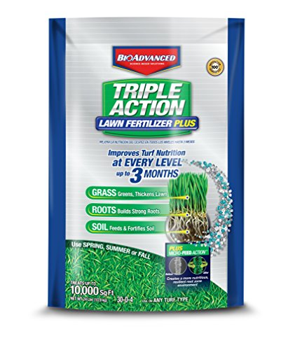Feed 000 (BioAdvanced 709860F Science-Based Solutions Lawn Weed and Feed, 10, 000 sq', Granules)