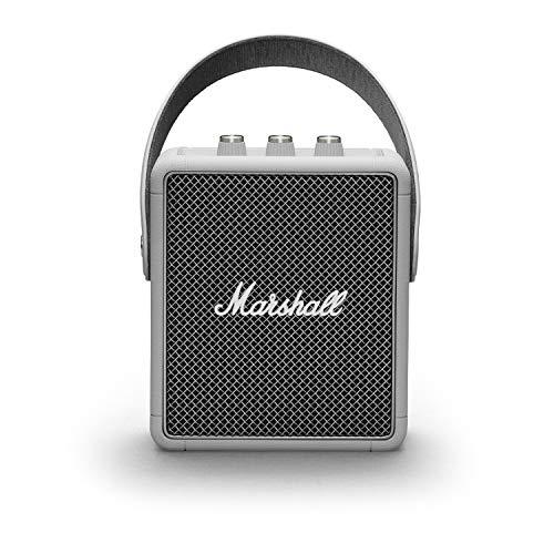Marshall Stockwell II Portable Bluetooth Speaker - Grey, NEW