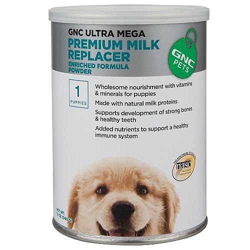 Ultra Mega Premium Milk Replacer Enriched Formula Powder, 12 oz
