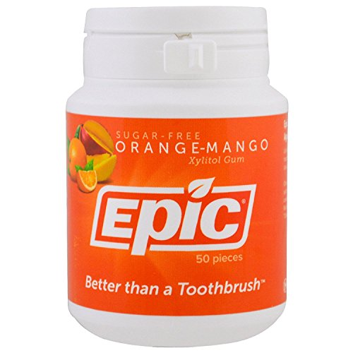 (EPIC DENTAL GUM ORANGE MANGO XYLITOL)