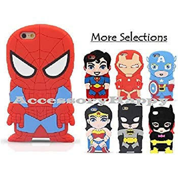 Amazon.com: Spiderman iPhone 5/5s Case - Retail Packaging
