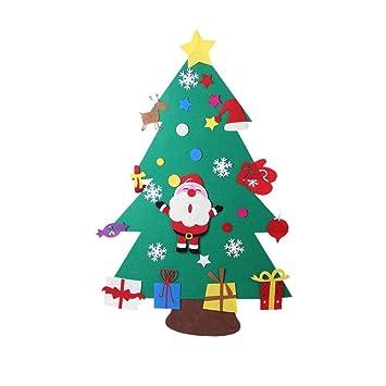 Children Christmas Tree Decorations.Amazon Com Whiteswan Felt Christmas Tree Decorations Set