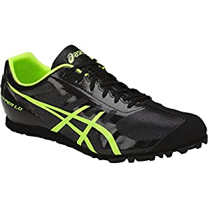 ASICS Men's Hyper LD 5 Track and Field Shoe - G404Y.9007 (Black/Safety Yellow - 10)