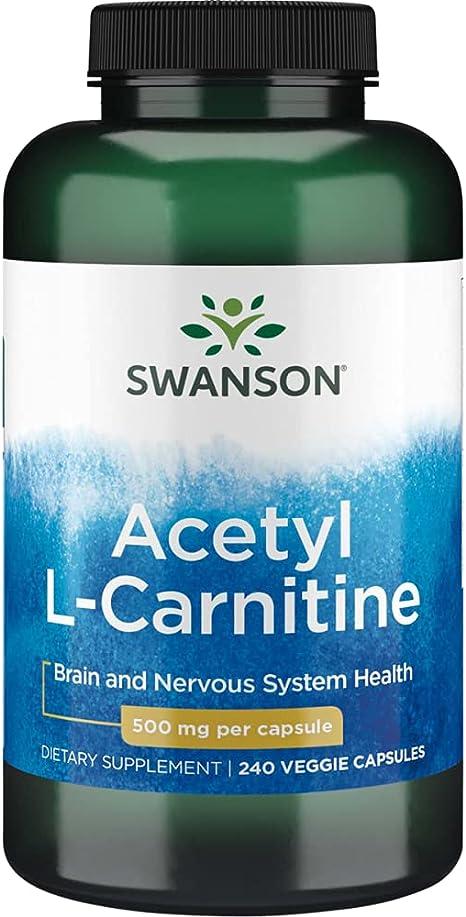 Swanson L-Carnitine tabletta - db - health-journal.hu webáruház