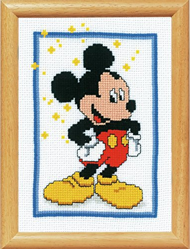 Disney's Mickey Mouse Counted Cross Stitch Kit