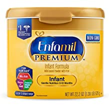 Enfamil PREMIUM Non-GMO Infant Formula, Powder 22.2 Ounce Reusable Tub