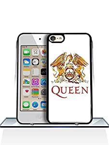 IPod Touch 6th Funda Case - Queen Logo IPod Touch 6th Funda Case Classic Colorful Dust proof Hardshell PC Drop Protection Printed Cell Phone Cover